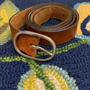 Banana Republic Genuine Leather Belt Size Medium